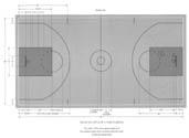 basketball court dimensions size measurement specifications official regulation. Black Bedroom Furniture Sets. Home Design Ideas